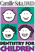 Camille Sata DMD Dentistry for Children Logo